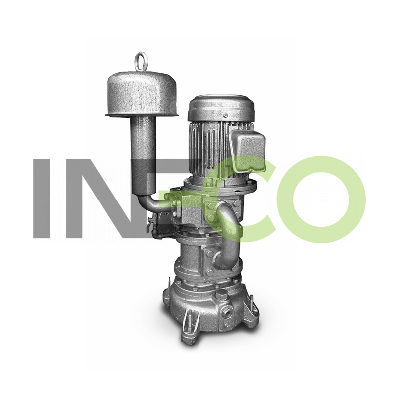 INW vertical roots blower, Circulating Air Cooling